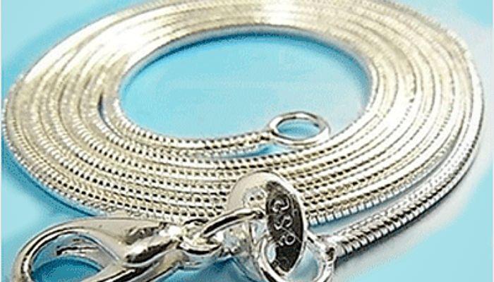 Чистка цепочки из серебра в домашних условиях