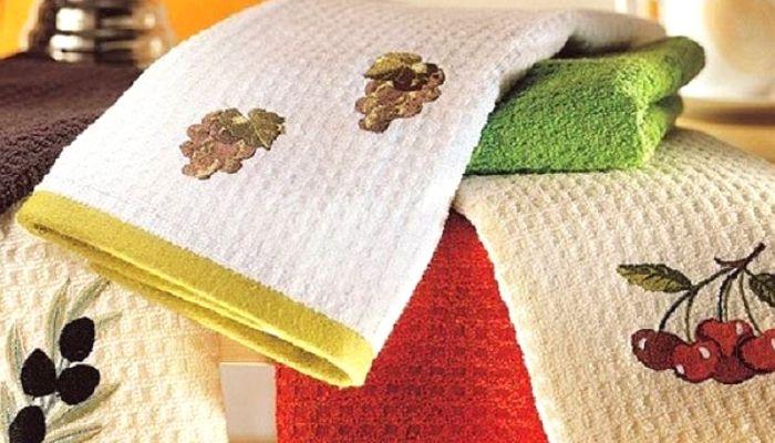 Старое проверенное суперсредство для чистоты кухонных полотенец