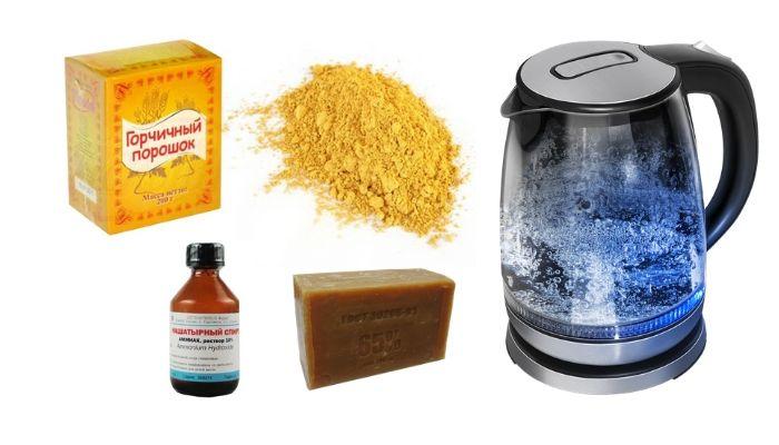 Ингридиенты для изготовления средства для мытья посуды