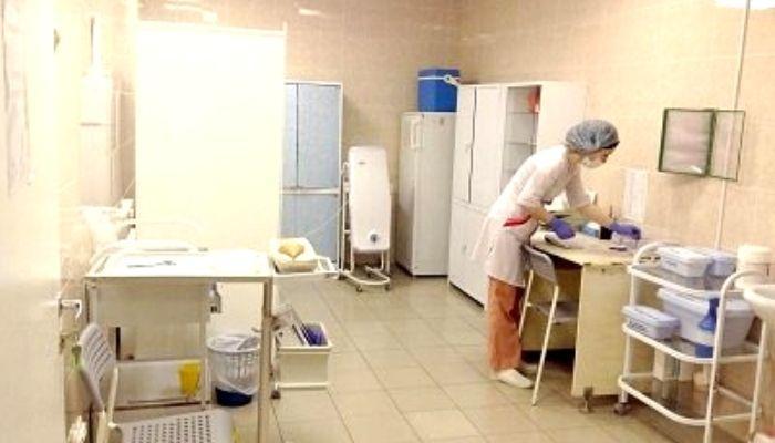 Проведение уборки в процедурном кабинете