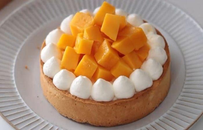 Ягодно-фруктовый тарт