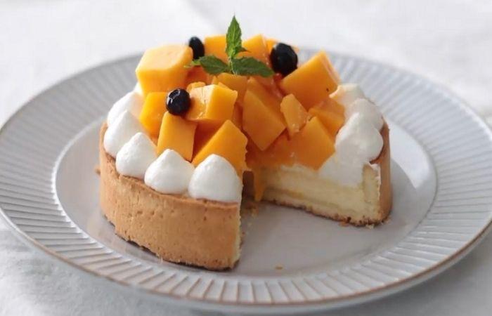 Фруктово-ягодный тарт