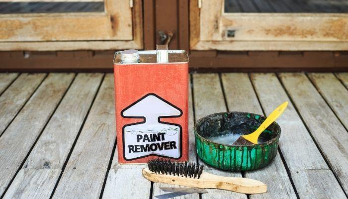 Средство для снятия краски с дерева