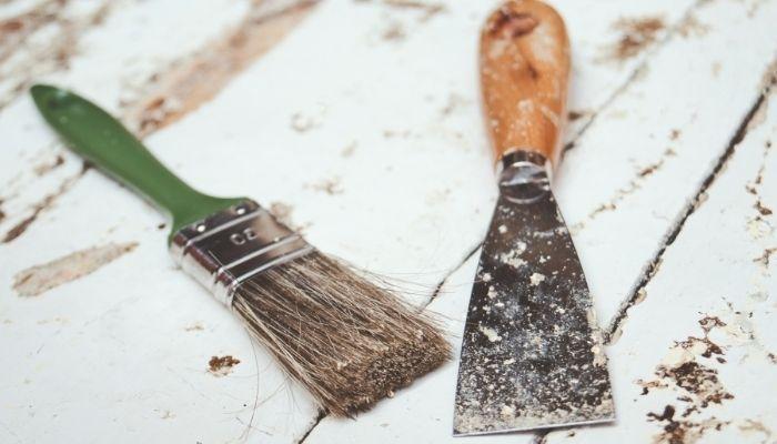 Рекомендации по удалению краски с деревянной поверхности
